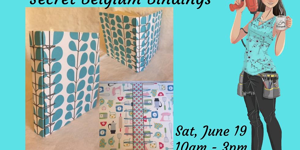 Bookbinding - Secret Belgium Bindings