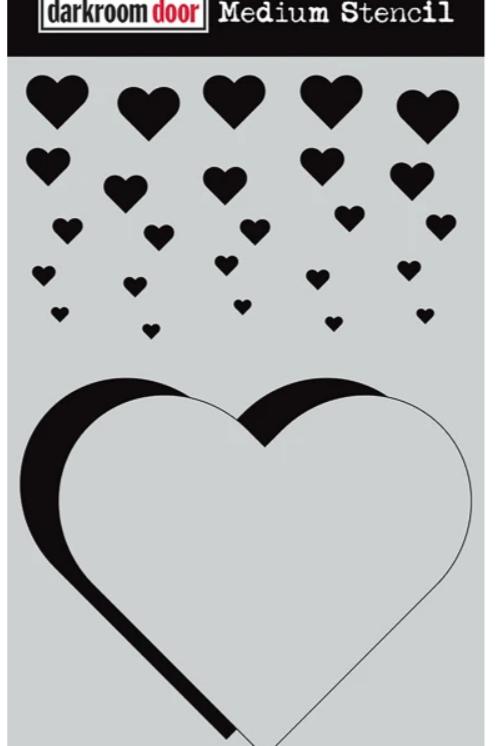 Darkroom Door - Cascading Hearts, DDMS007