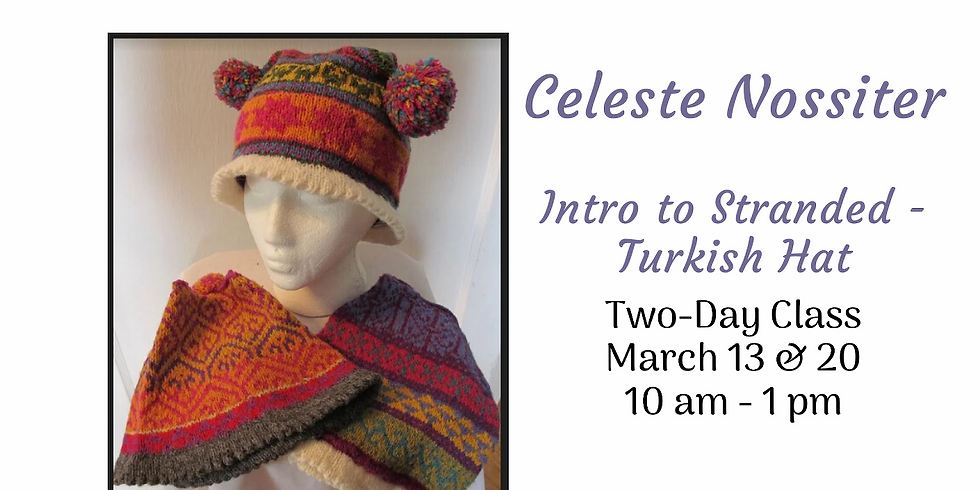Turkish Hat - An Intro into Stranded Knitting (1)