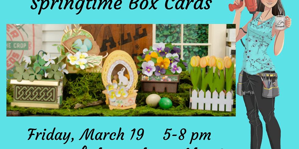 3D Paper Connection - Springtime Box Cards