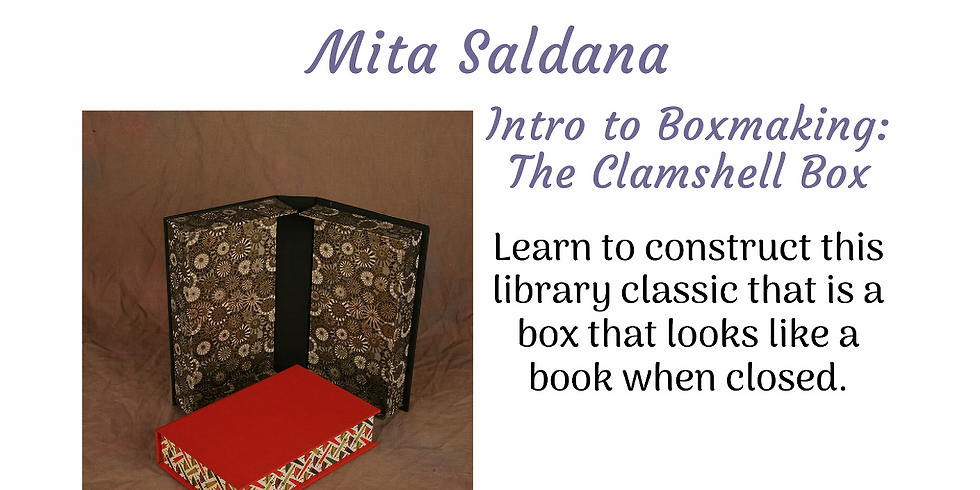 Intro to Boxmaking: The Clamshell Box