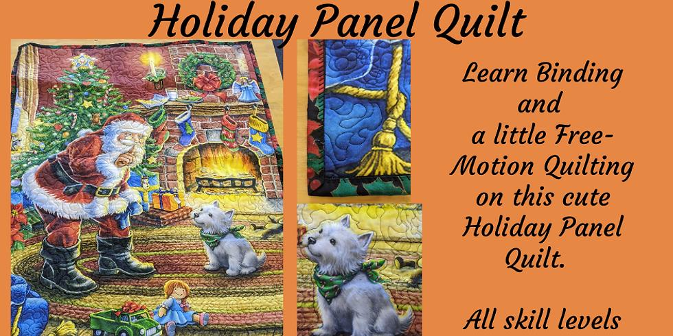 Quilting 202 - Holiday Wall Hanging