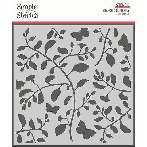 Simple Stories - Branch & Butterfly, SSS14730