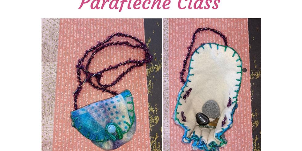Parafleche (Amulet or Mask Bag)