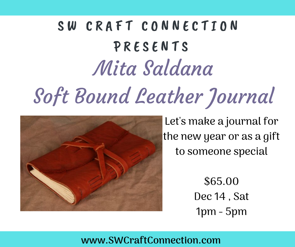 Soft Bound Leather Journal (A Book Binding Technique