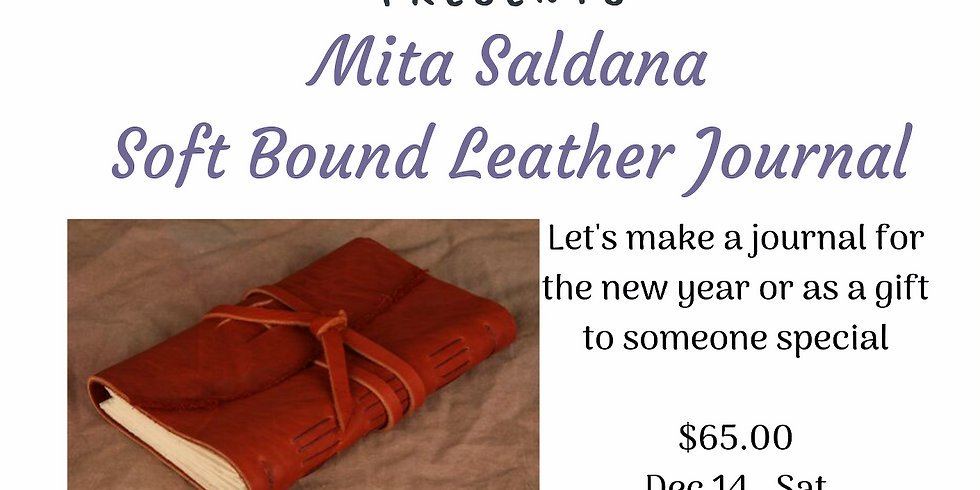 Soft Bound Leather Journal  (A Book Binding technique)