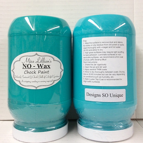 NO WAX Chock Paint - Turquoise & Teals