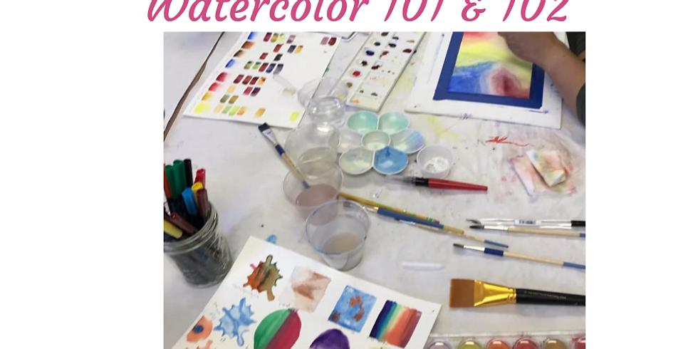 Watercolor 101 & 102