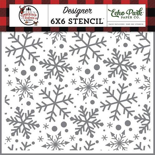 Echo Park - Jingle Bell Snowflakes, ALC220033