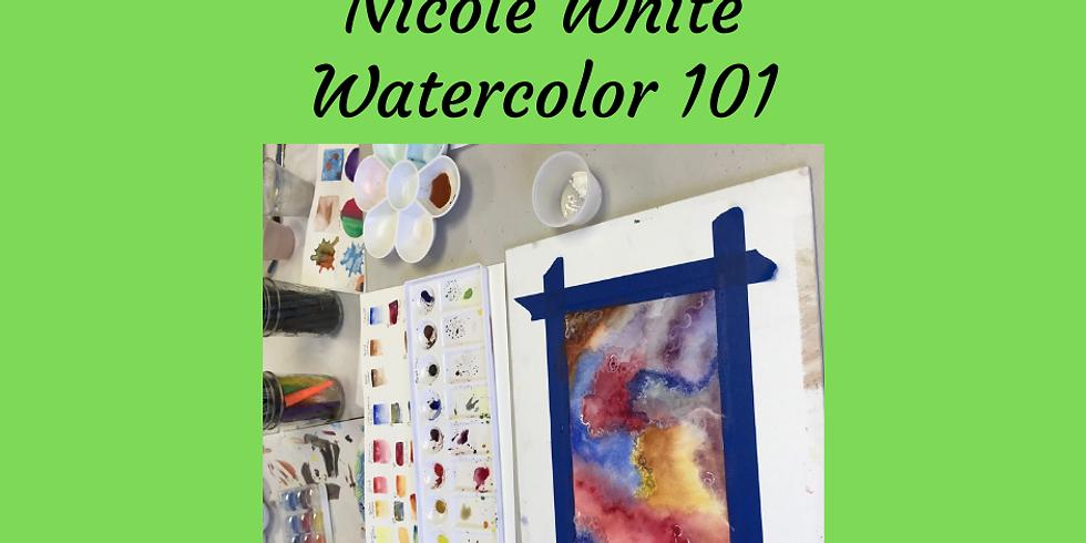 Watercolor 101 via Zoom