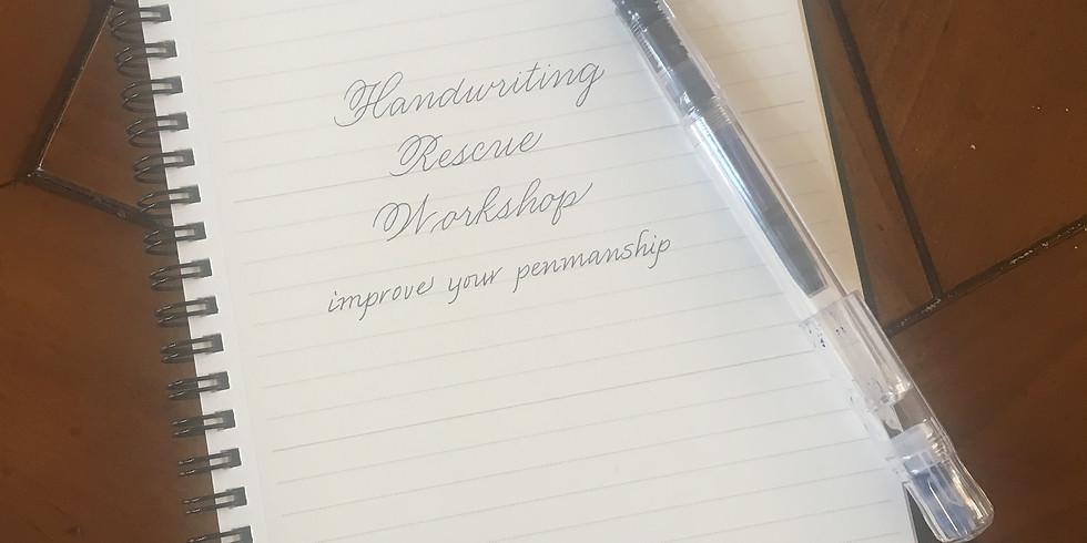 Handwriting Rescue Workshop