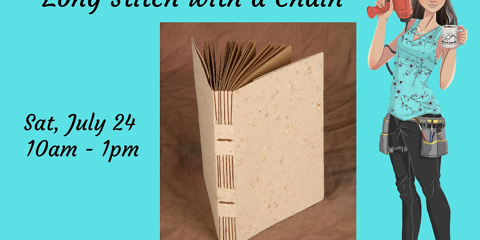 Bookbinding - Long Stitch with a Chain