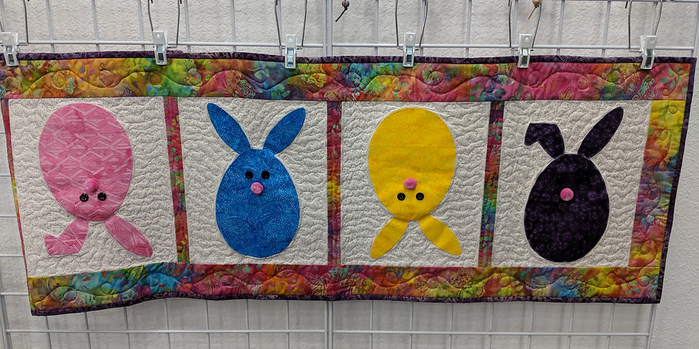 Quilted Bunny Table Runner
