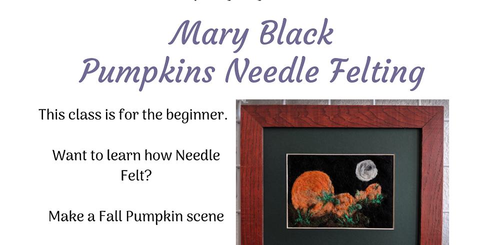 Fall Themed Needle Felting