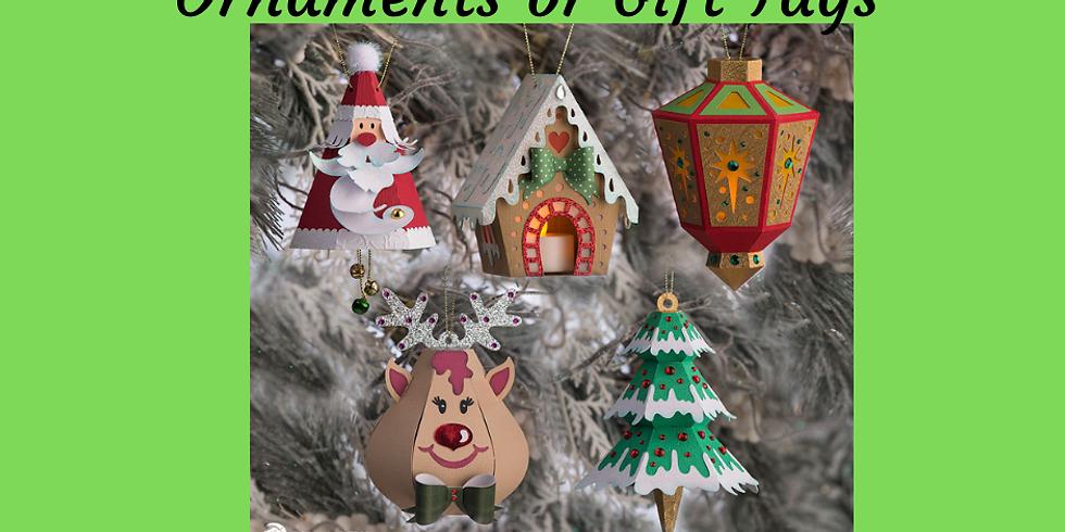 3D Paper Connection - Ornaments