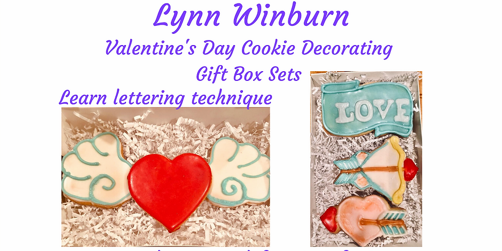 Cookie Decorating - Valentine's Gift Box Sets