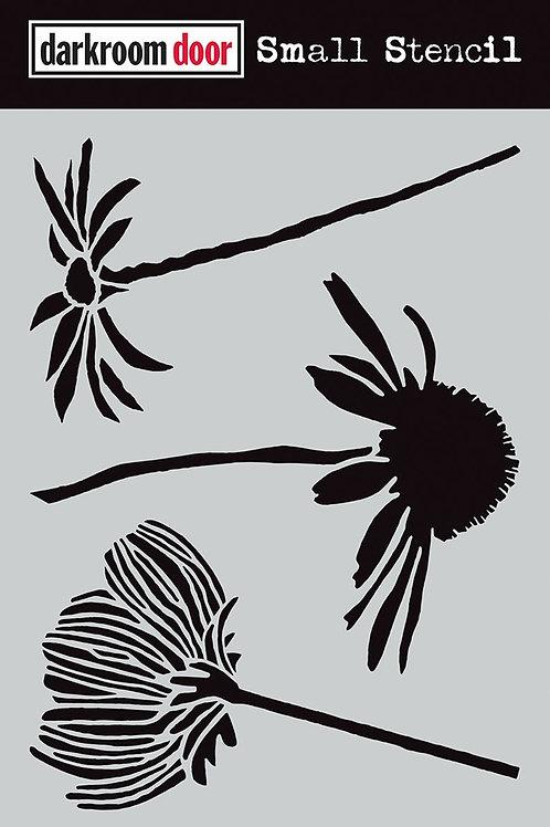 Darkroom Door - Carved Flower, DDSS025