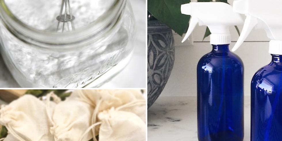 Natural Household Cleaners - Make & Take