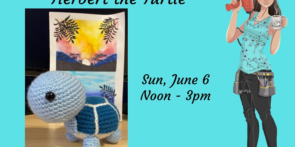 Intermediate Crochet Class - Herbert the Turtle