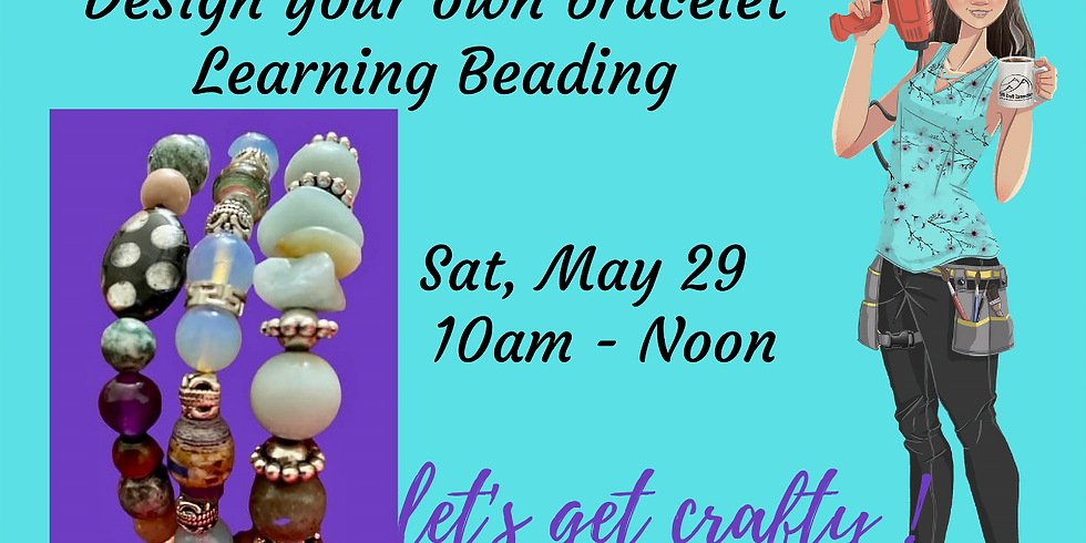 """Jooleery"" Beading - Design your own Bracelet"
