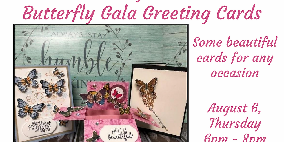 Butterfly Gala Greeting Cards