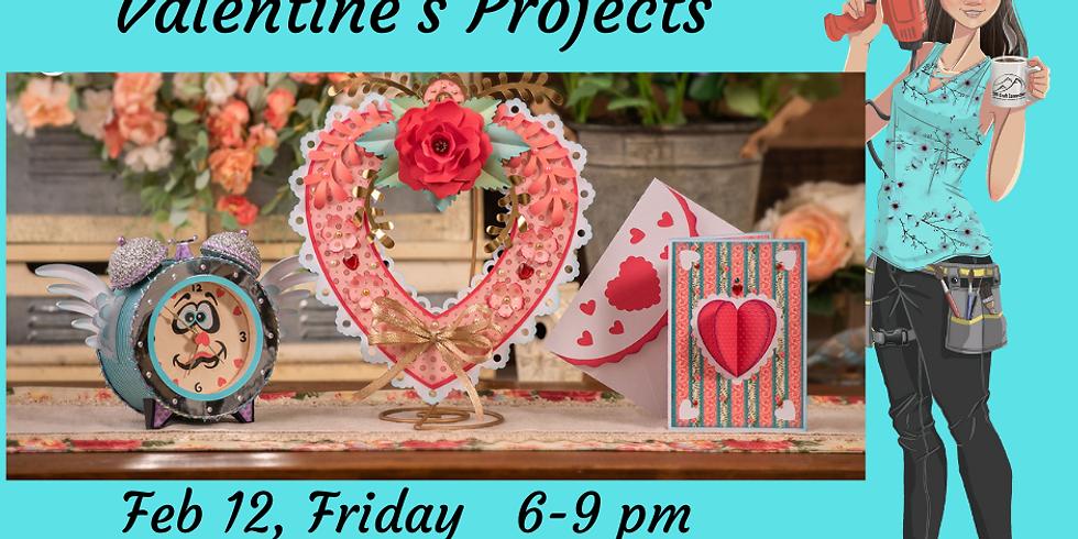 3D Paper Connection - Valentine's Set