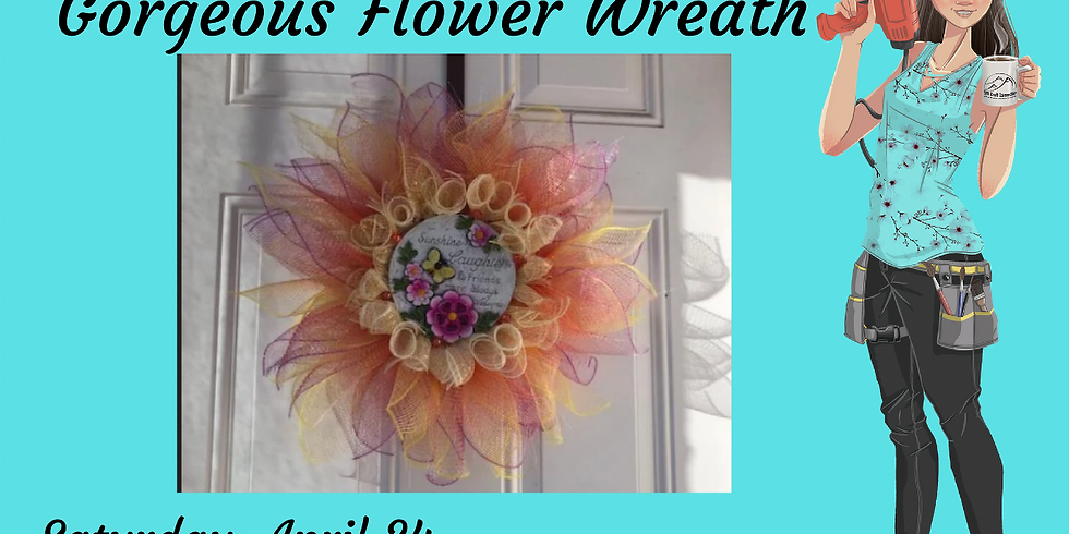 Gorgeous Flower Wreath
