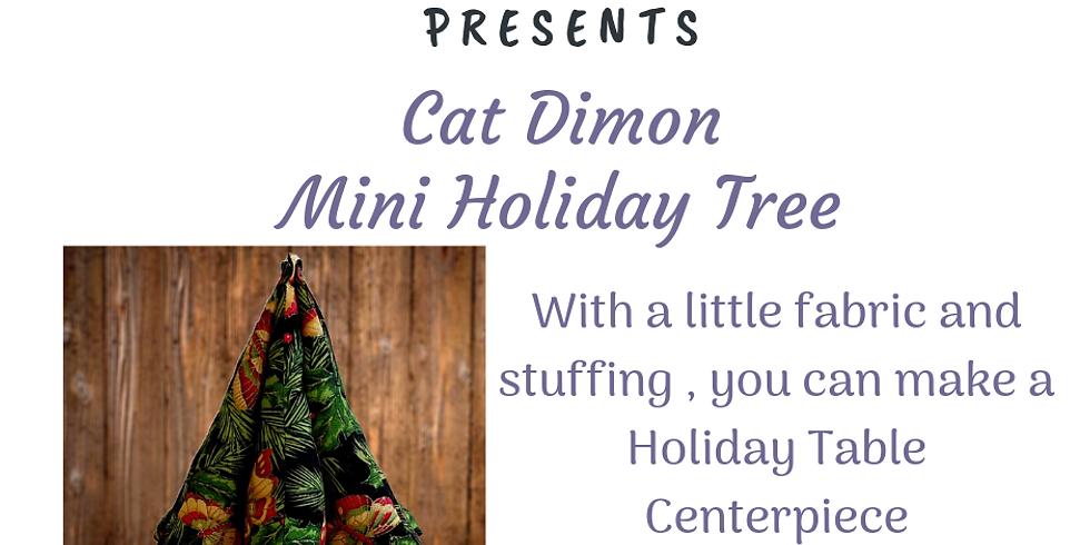 Mini Holiday Tree