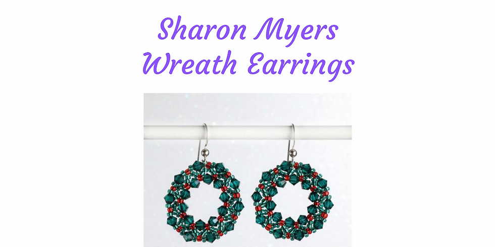 Swarovski Crystal Wreath Earrings