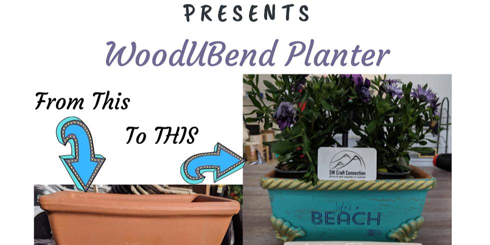 WoodUBend Planter