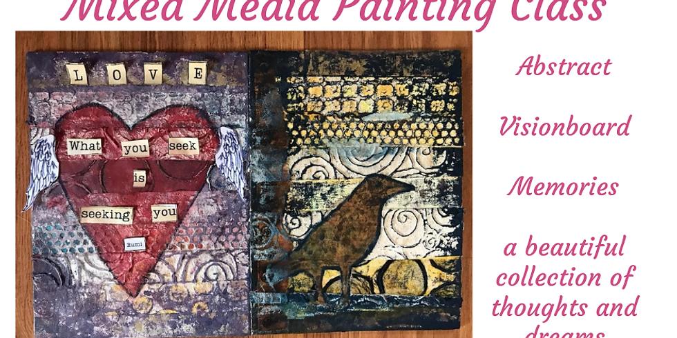 Mixed Media Painting Class