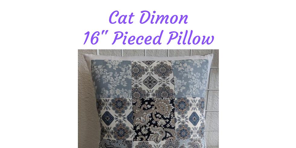 Quilting 101 - Pieced Pillow