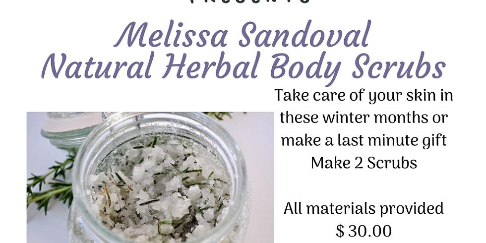 Natural Herbal Body Scrub