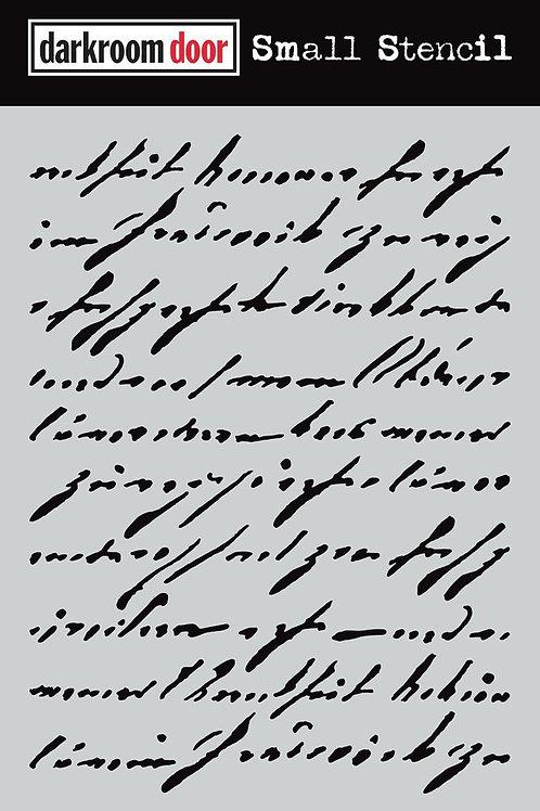 Darkroom Door - Handwritten Script, DDSS038