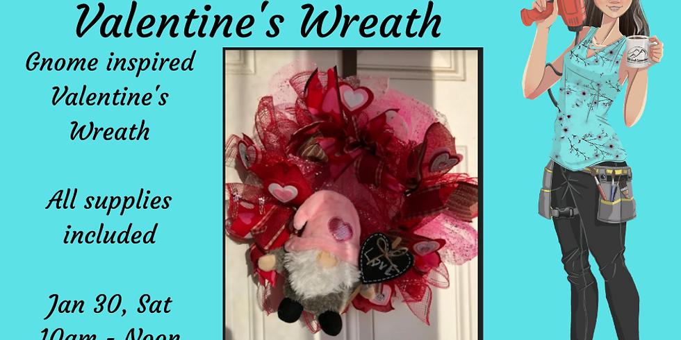 Valentine's Door Wreath
