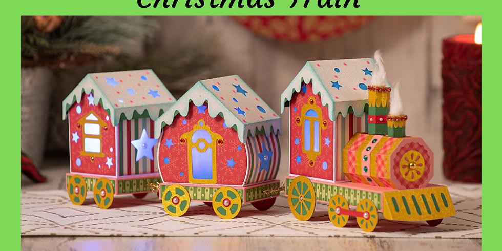 3D Paper Connection - Christmas Train