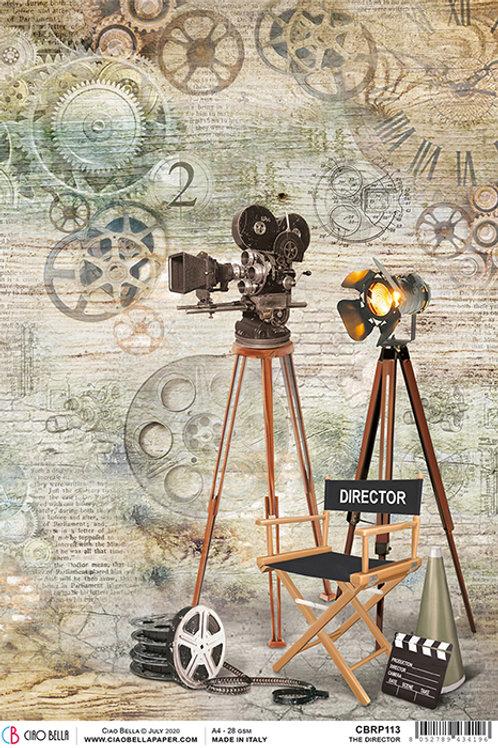 Ciao Bella A4 Rice Paper -The Director CBRP113