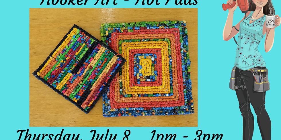 Hooker Art - Hot Pad (July)
