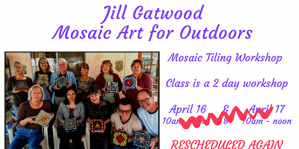 Mosaic Art for Outdoors (Completion)