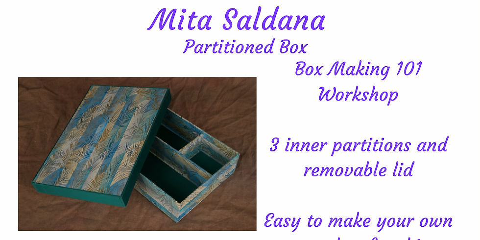 Box Making 101 - Partitioned Box