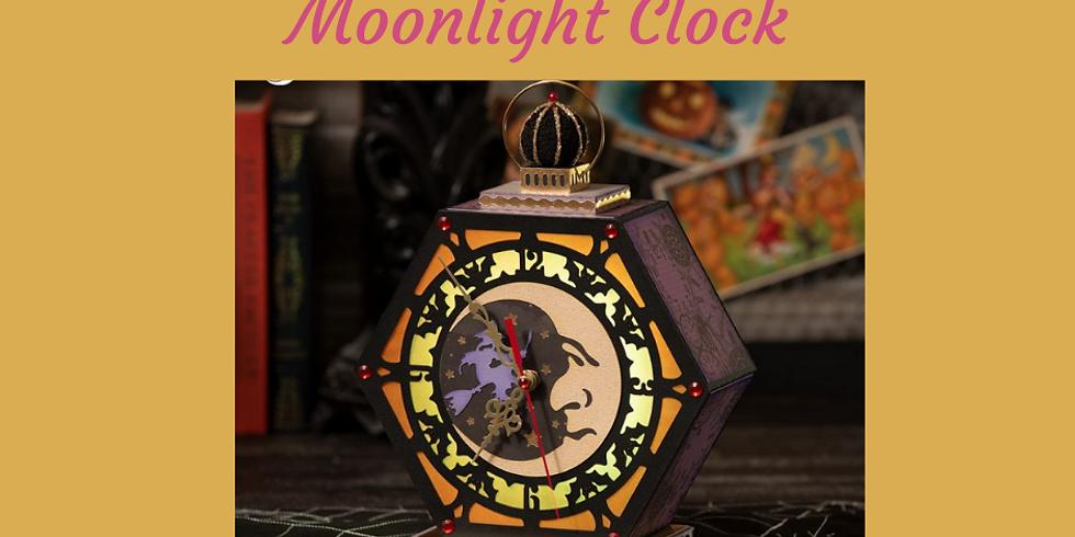 3D Paper Connection - Moonlight Clock