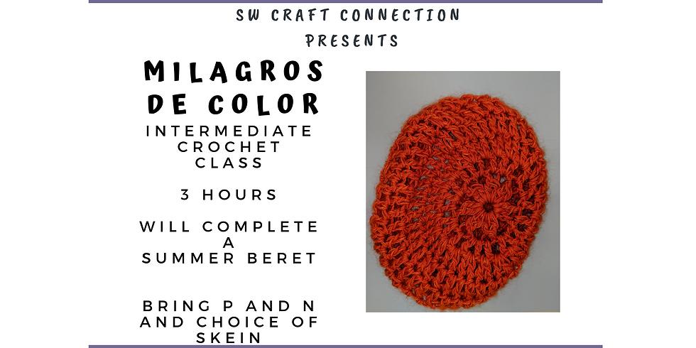 Intermediate Crochet - Summer Beret