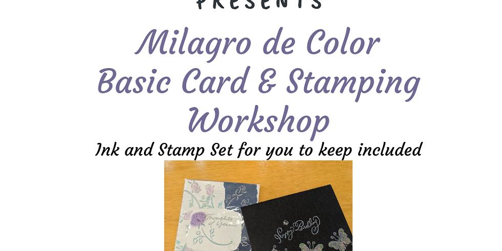 Basic Stamping & Card Making Workshop