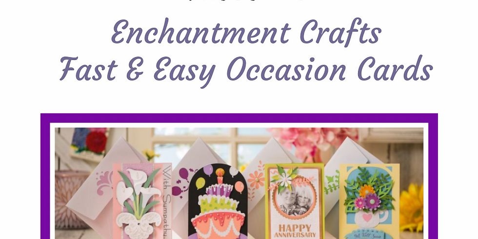 Fast & Easy Occasion Cards