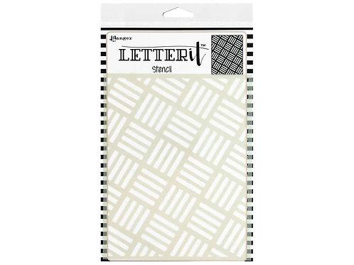 Ranger Ink - Letter it Rocking Stripes, LET67313