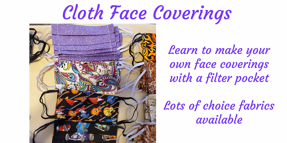 Cloth Face Coverings(Masks)