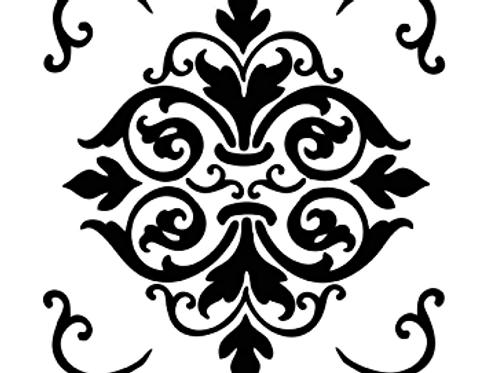 Stamperia Stencil - Mix Media Art, KSTDQ07