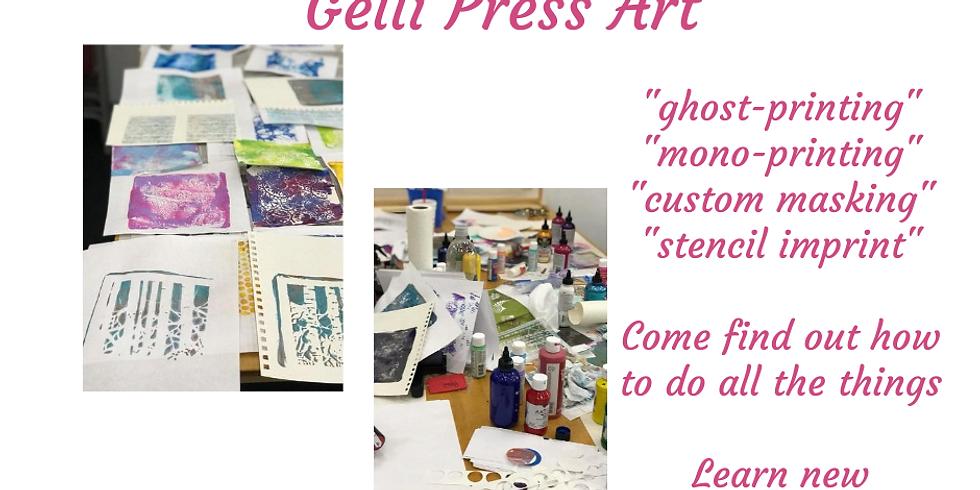 Gelli Press Art