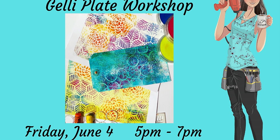 Gelli Plate Workshop (Basics)