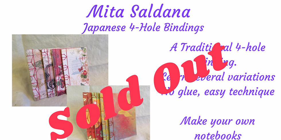 A Bookbinding 101 Class -Japanese 4-Hole Bindings